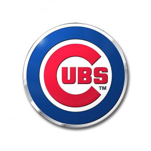 Chicago Cubs Full Color Auto Emblem