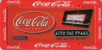 Coca-Cola Auto Tag License Plate Frame