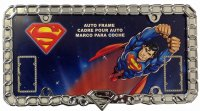 Superman Unchained Chrome License Plate Frame