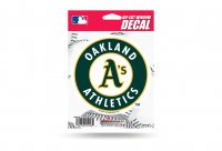Oakland Athletics Die Cut Vinyl Decal