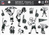 New York Jets Family Spirit Window Decals