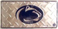 Penn State University Diamond License Plate