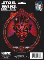 Star Wars Darth Maul Color Decal