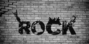 Rock MUSIC Wall Photo License Plate