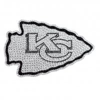 Kansas City Chiefs Diamond Bling Auto Emblem