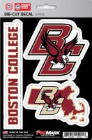Boston College Eagles Team Decal Set