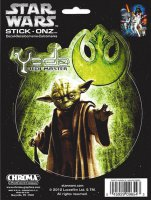 Star Wars Yoda Color Decal