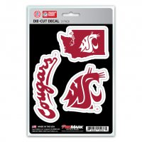 Washington State Cougars Team Decal Set