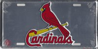 St. Louis Cardinals Anodized License Plate