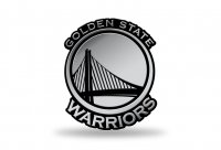 Golden State Warriors NBA Plastic Auto Emblem