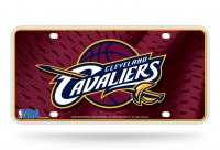 Cleveland Cavaliers Metal License Plate