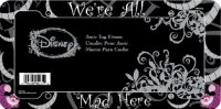 Cheshire Cat We're All Mad Here Plastic License Plate Frame