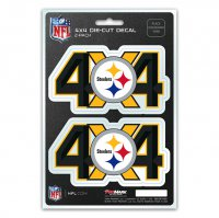 Pittsburgh Steelers 4x4 Decal Pack
