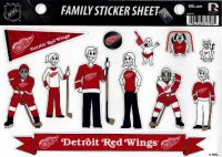 Detroit Red Wings Family Spirit Decal Set