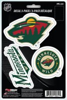 Minnesota Wild Team Decal Set