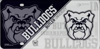 Butler Bulldogs Metal License Plate