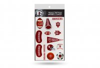 Indiana Hoosiers Variety Pack Tattoo Set