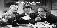 All My Friends Are Stooges Photo License Plate