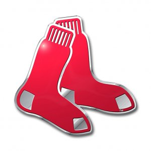 Boston RED SOX Full Color Auto Emblem