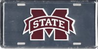 Mississippi State Anodized License Plate