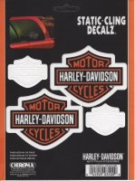 Harley-Davidson Bar And Shield 4 Decals
