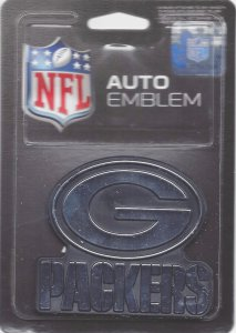 Green Bay Packers Chrome Auto Emblem