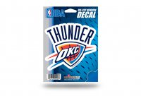 Oklahoma City Thunder Die Cut Vinyl Decal