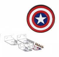 Captain America Color Logo Hitch Cover
