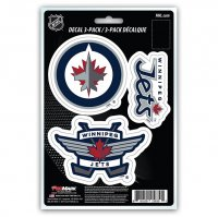Winnipeg Jets Team Decal Set
