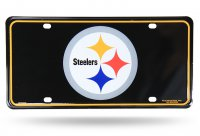 Pittsburgh Steelers Metal License Plate