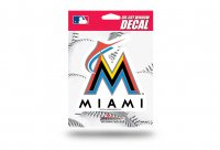 Miami Marlins Die Cut Vinyl Decal