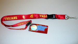 USC Trojans Lanyard With Neck Safety Latch