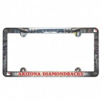 Arizona Diamondbacks Full Color Plastic License Plate Frame