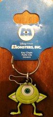 DISNEY Pixar Monsters Inc Rubberized Vinyl Mike Key Chain