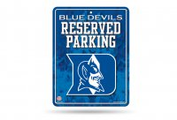 Duke Blue Devils Metal Parking Sign