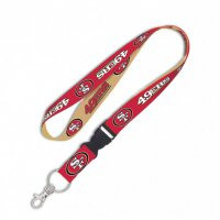 San Francisco 49ers Lanyard With Detachable Buckle