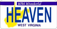 Design It Yourself West Virginia State Bicycle Plate