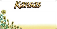 Design It Yourself Custom Kansas State Look-Alike Plate #3