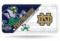 Notre Dame Fighting Irish License Plate