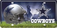 Dallas Cowboys Metal License Plate
