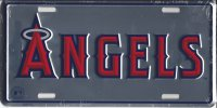 Anaheim Angels Anodized License Plate