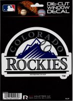 Colorado Rockies Die Cut Vinyl Decal
