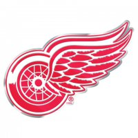 Detroit Red Wings Full Color Auto Emblem