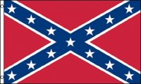 Confederate Rebel Polyester Flag
