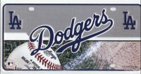 Los Angeles Dodgers License Plate