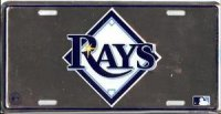 "Tampa Bay ""Rays"" Anodized License Plate"