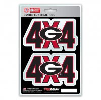 Georgia Bulldogs 4x4 Decal Pack