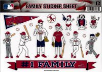 St. Louis Cardinals Family Spirit Decal Set
