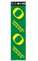 Oregon Ducks Quad Decal Set