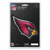 Arizona Cardinals Die Cut 3D Decal